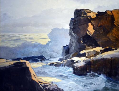 Frederick Judd Waugh: Rocky Coastline