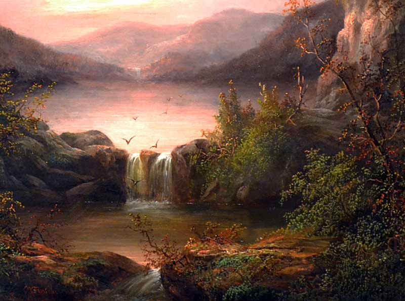 William Frerichs North Carolina Landscape Mccarty Gallery