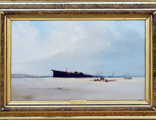 Frank F. English: Shipwreck