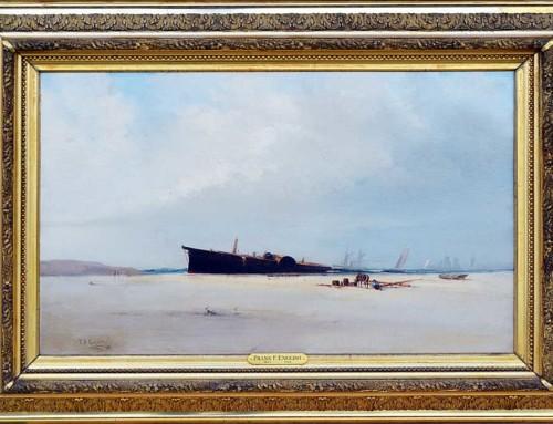 Frank F. English: Shipwreck